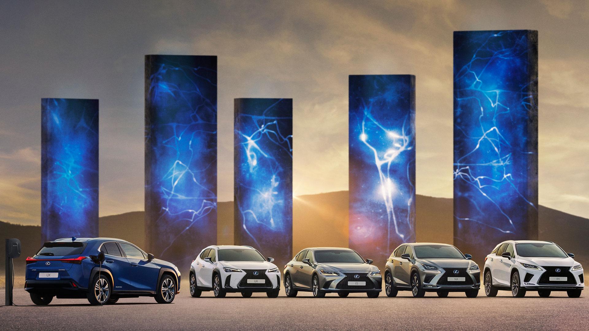 Imagen de la gama de Lexus