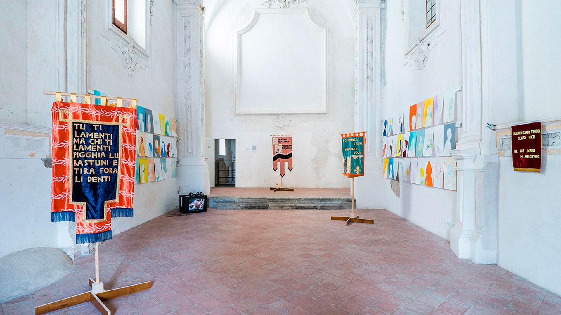 Espacio de exhibición de la bienal Manifesta