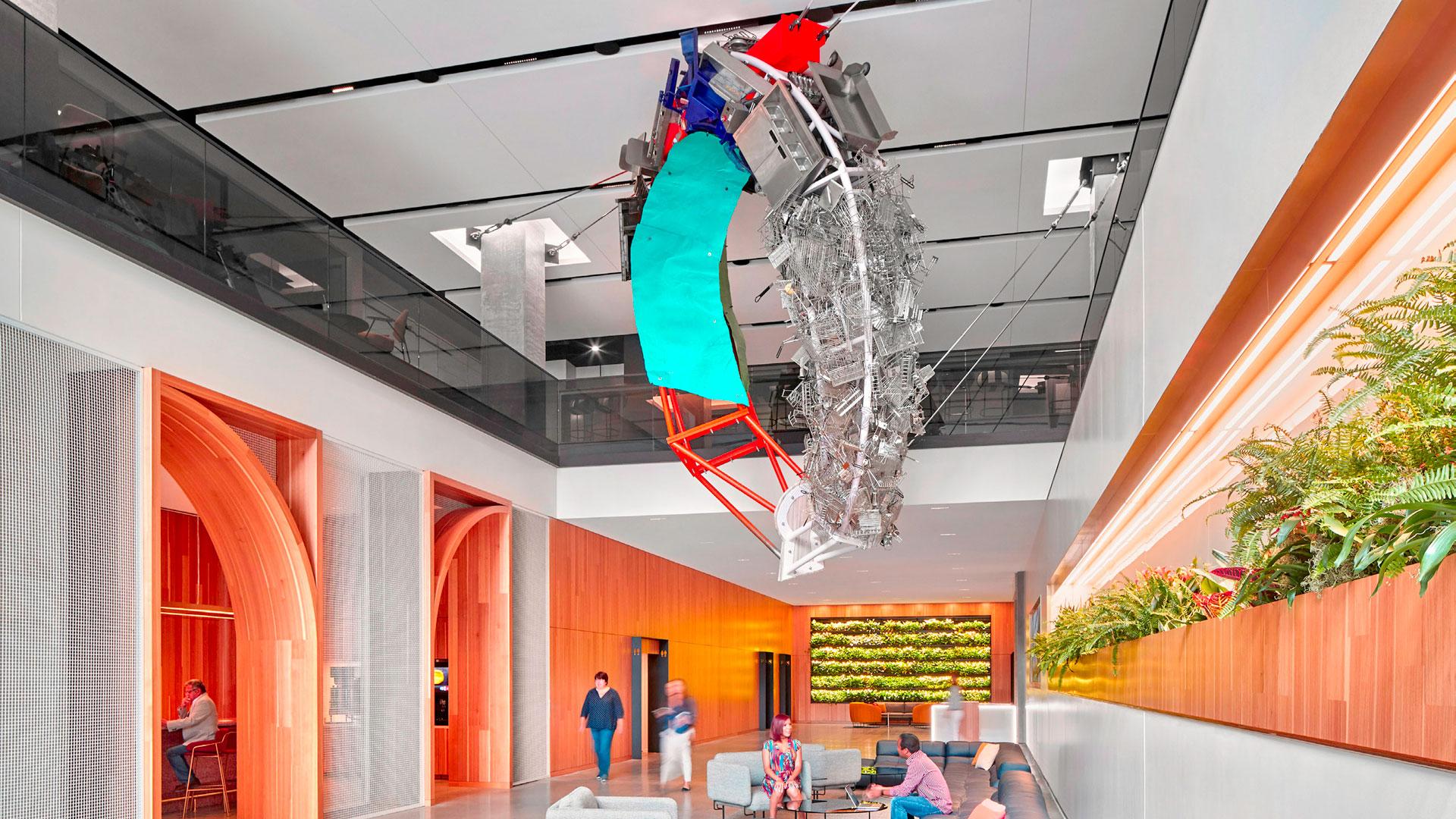 Imagen de las oficinas centrales de McDonald's en Chicago