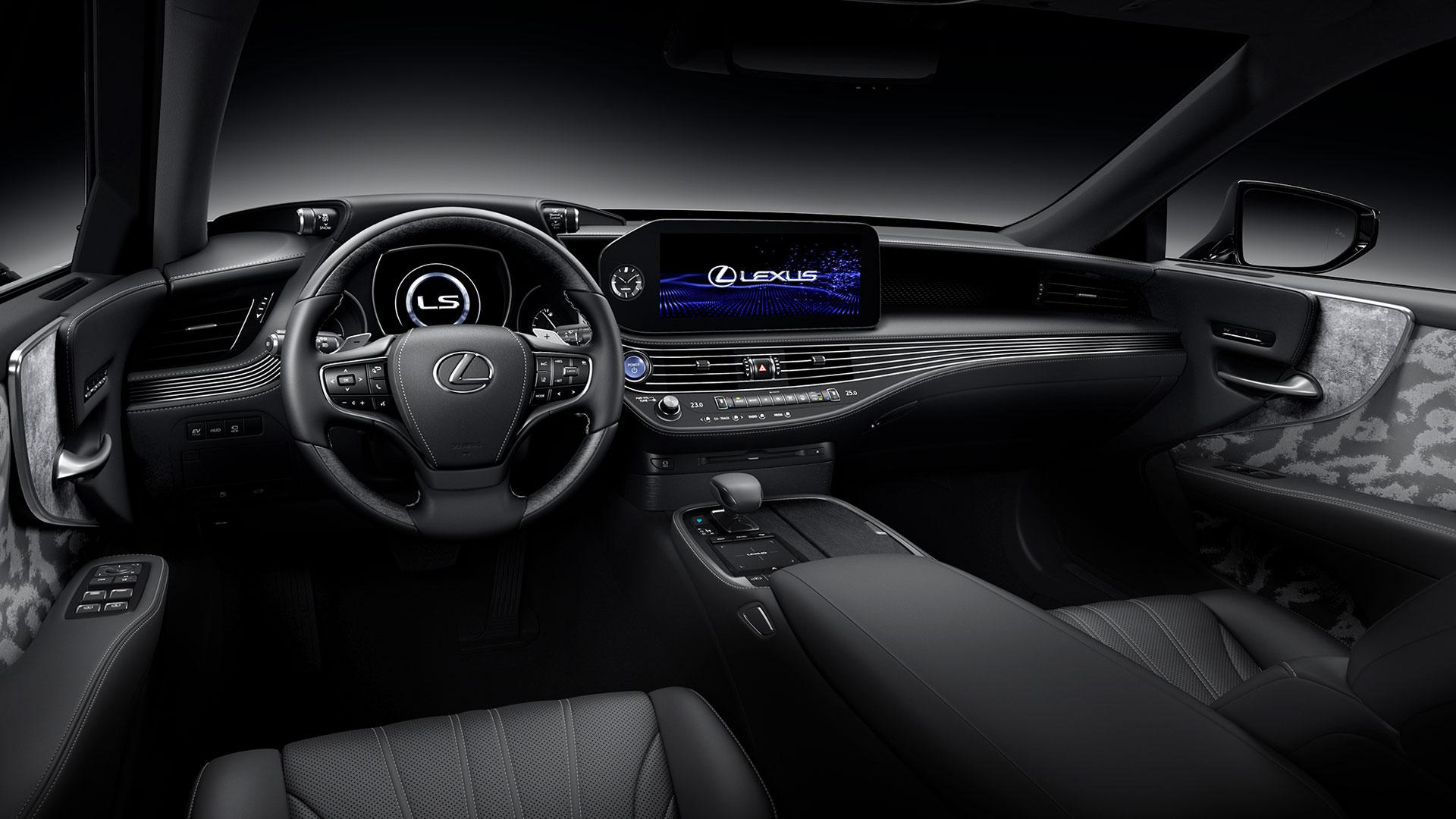Nuevo Lexus ls hero asset