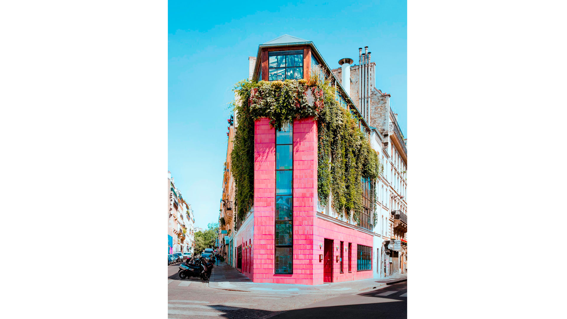 Imagen del bistrot Pink Mamma en París
