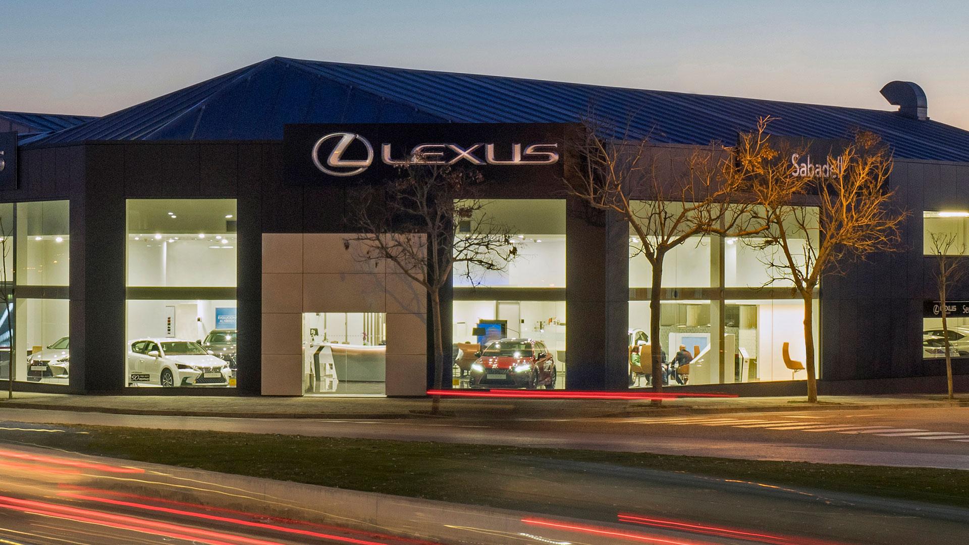 Imagen del concesionario Lexus Sabadell