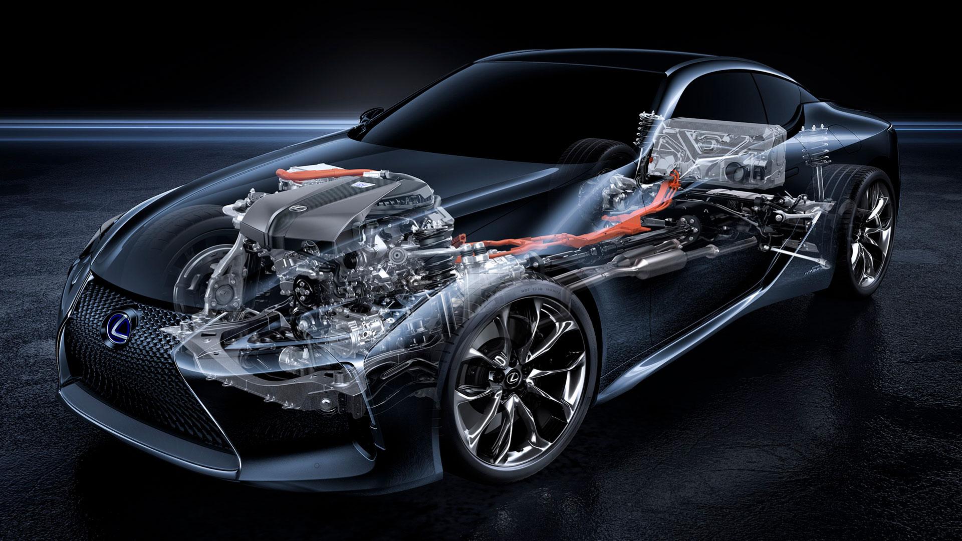 Lexus continúa con su revolución híbrida en 2020 hero asset