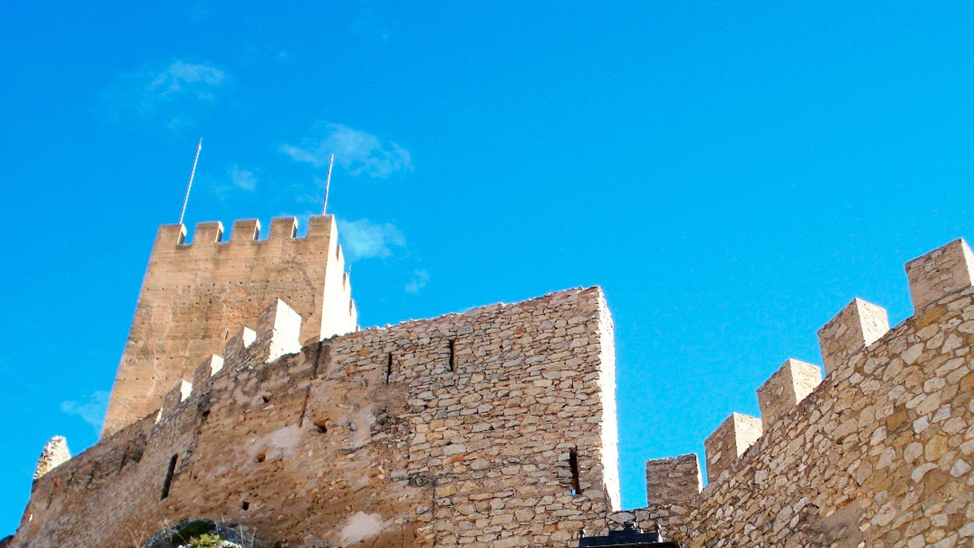 Imagen de castillo en la provincia de Alicante