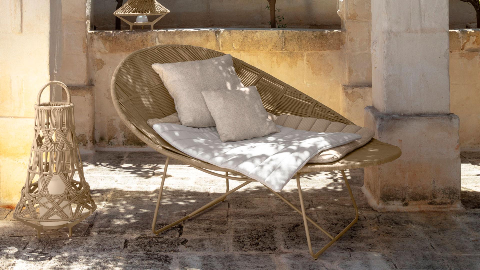 Imagen de la línea de muebles de exterior Talenti