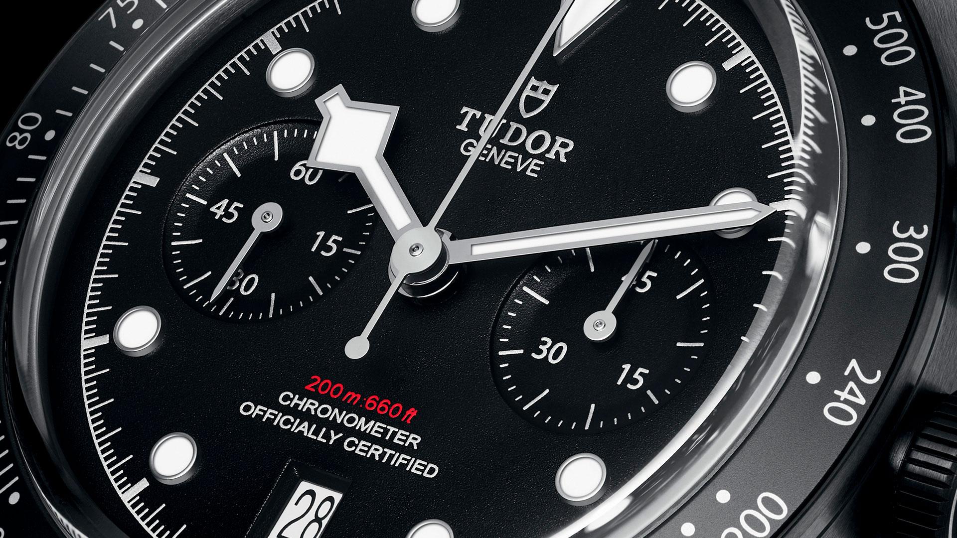 Imagen del reloj Black Bay Chrono Dark