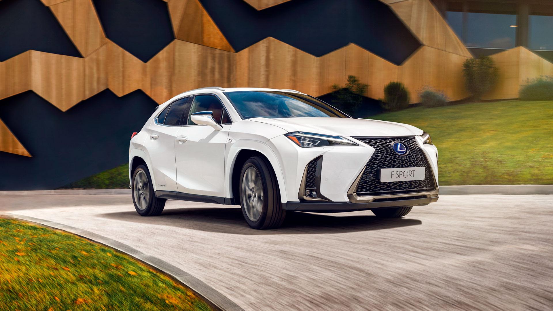 Imagen del Lexus UX 2022
