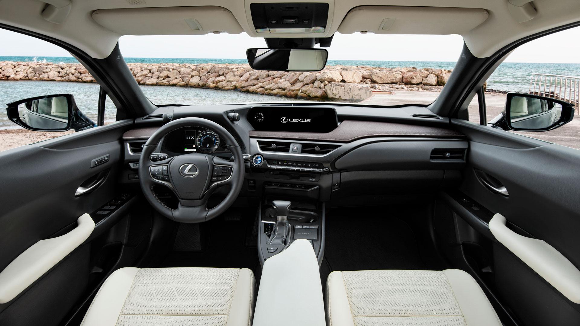 Imagen del nuevo suv compacto Lexus UX