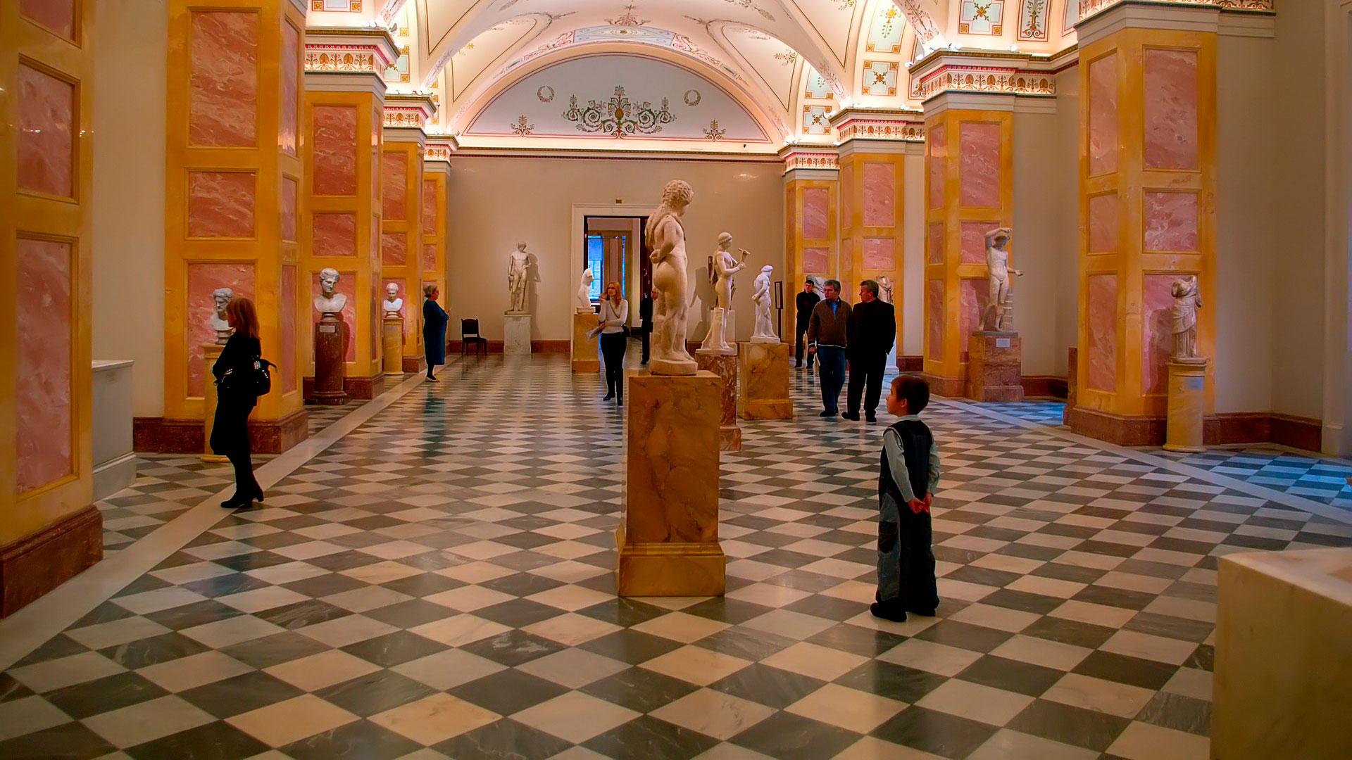 Imagen interior de un museo