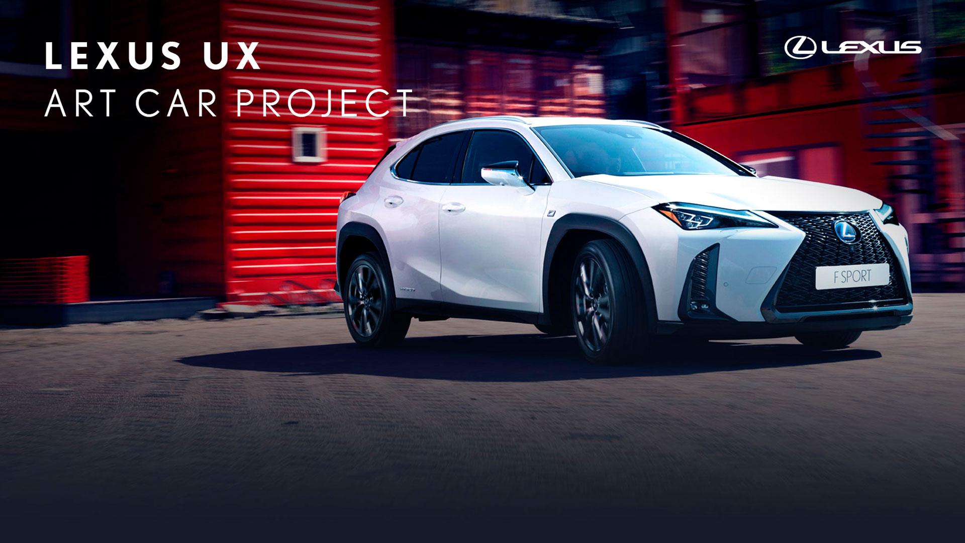 Imagen del concurso Lexus Art Car