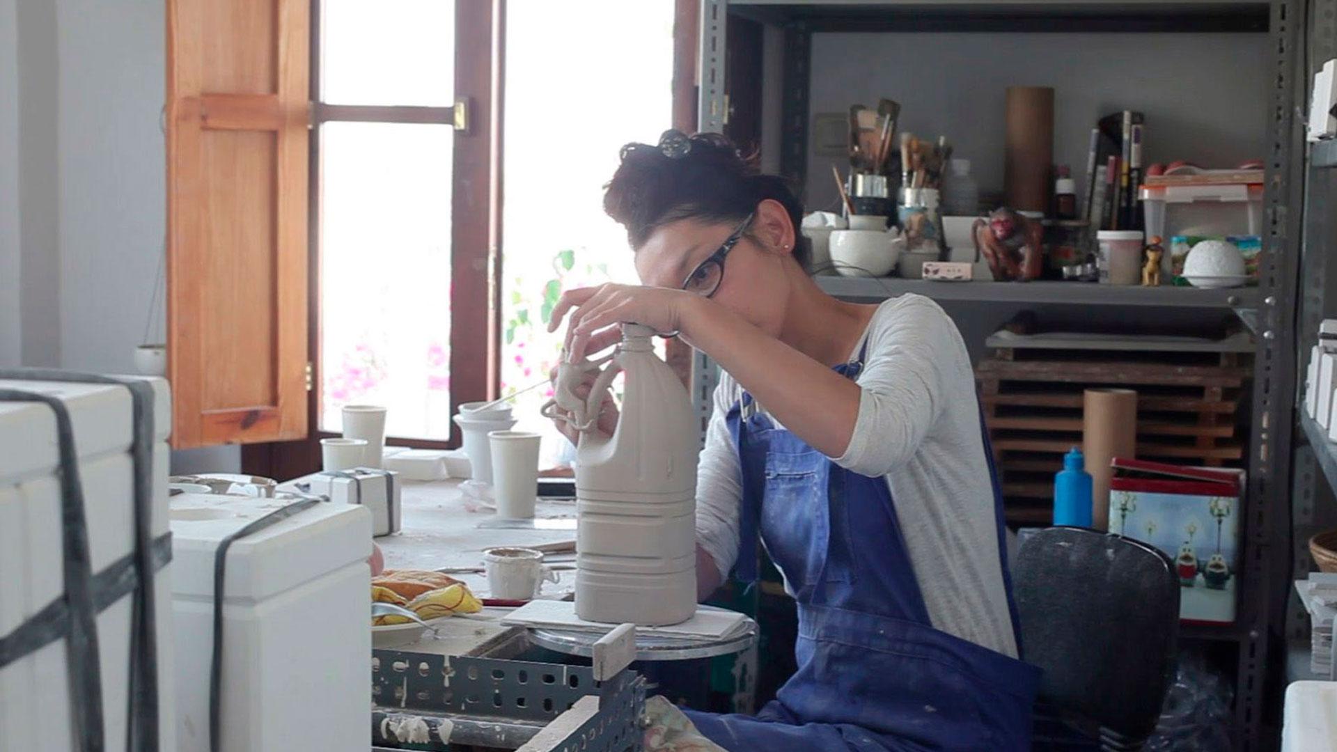Imagen de la vajilla diseñada por Yukiko Kitahara