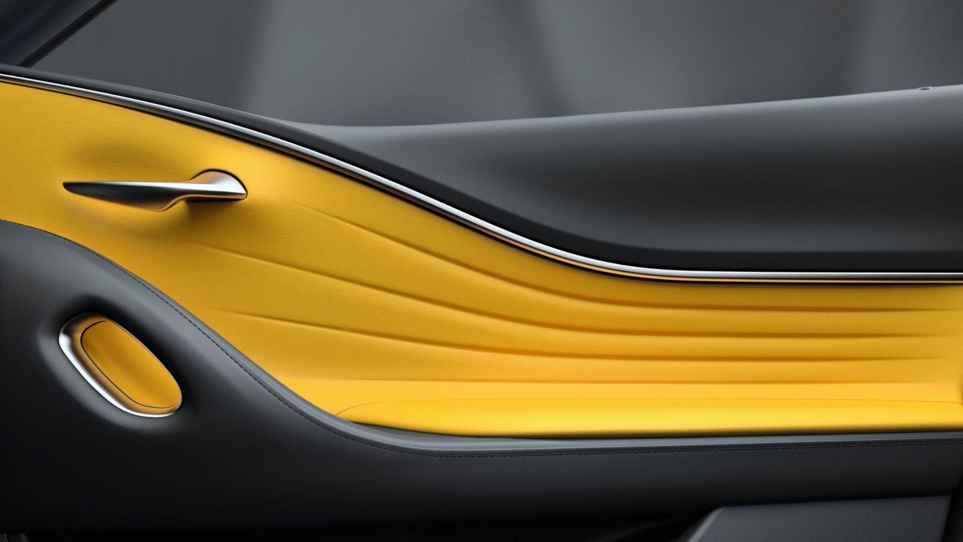 LC Door Trim Yellow