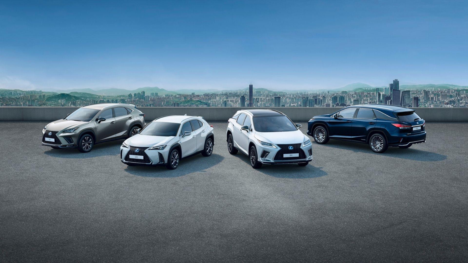 Lexus Hybrid SUV Range