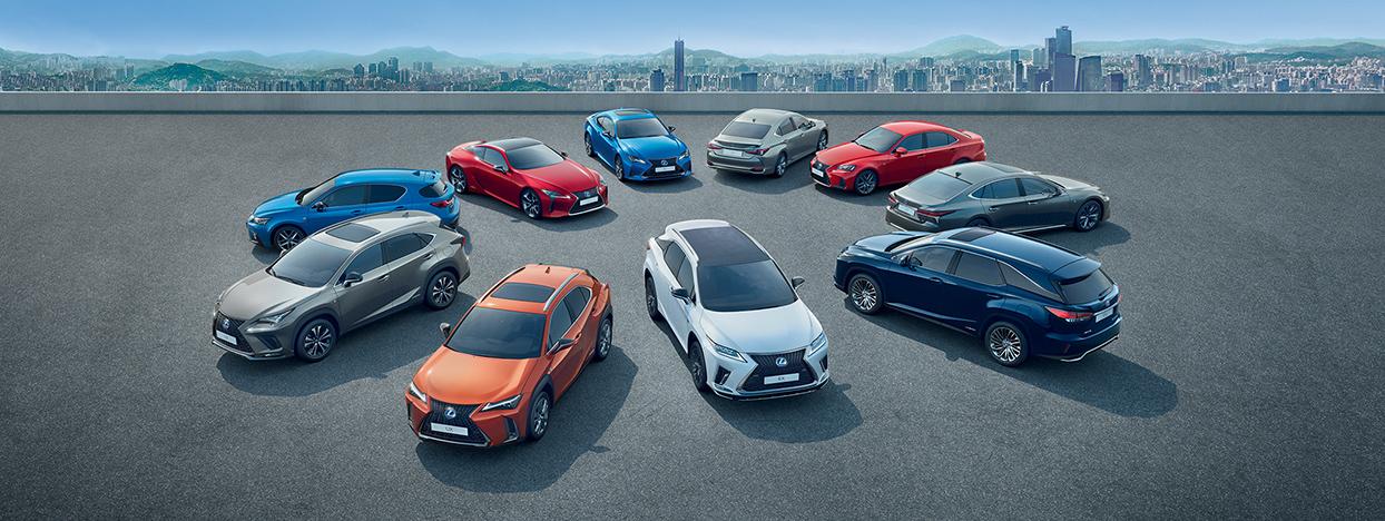 2020 lexus hybrid overview range