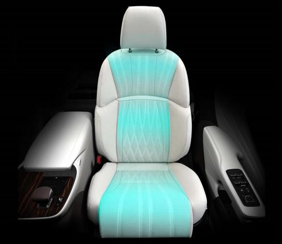 2018 LEXUS LS 7 WAYS seat massage