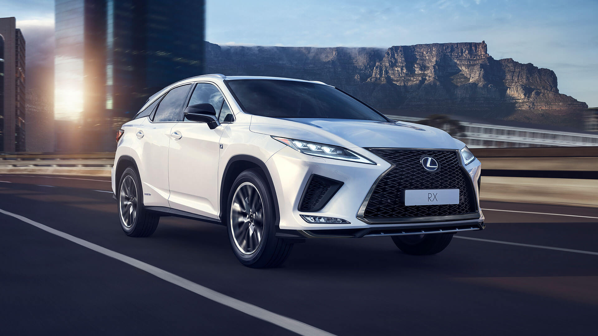 2019 lexus model names rx