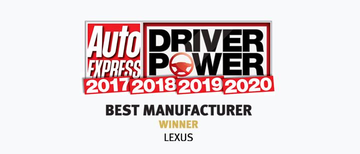 2020 lexus BestManufacturer 4years 21x9