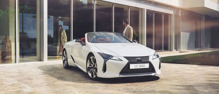 2021 lexus lc convertible promotions offer