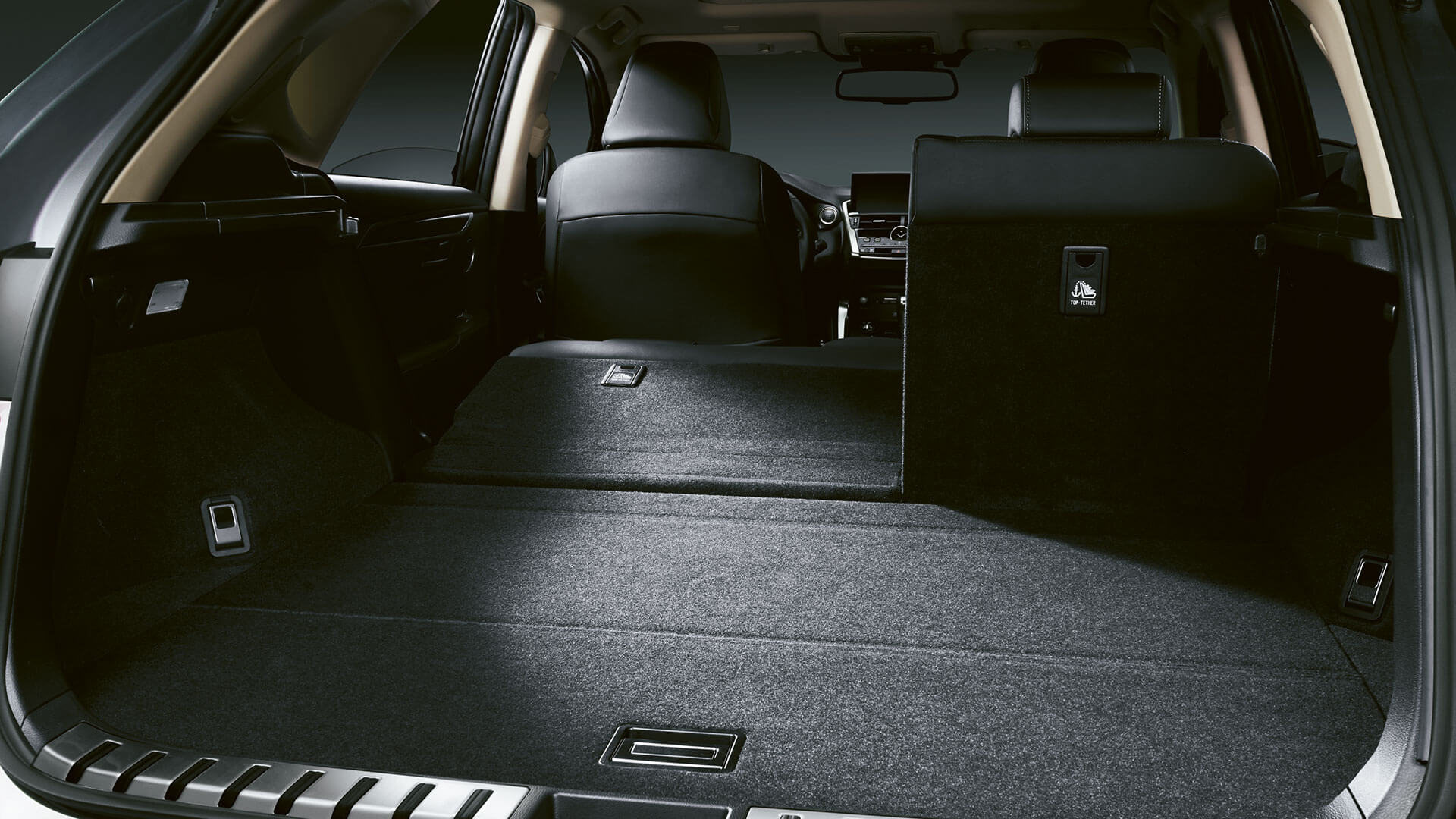 2020 lexus nx gallery boot space