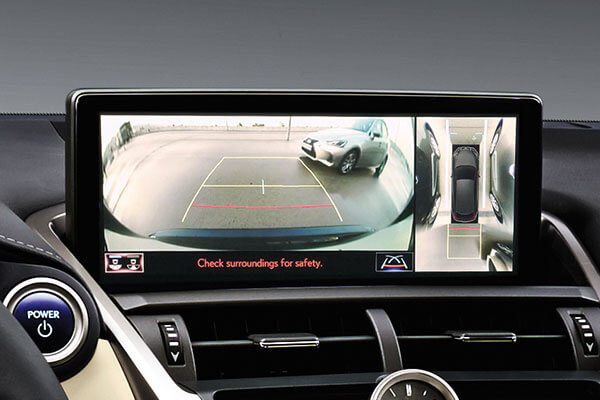 2020 lexus suv nx features rear view camera 3x2