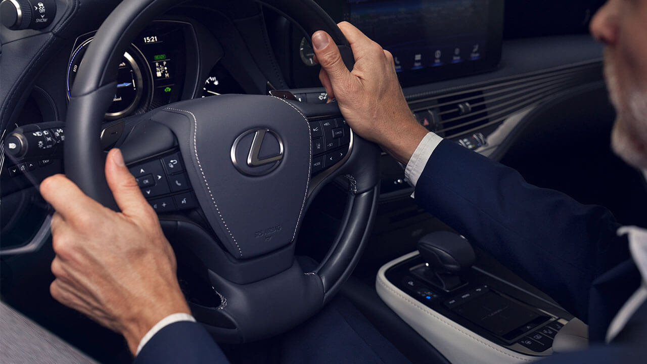 2017 lexus ls 500h next steps behind wheel