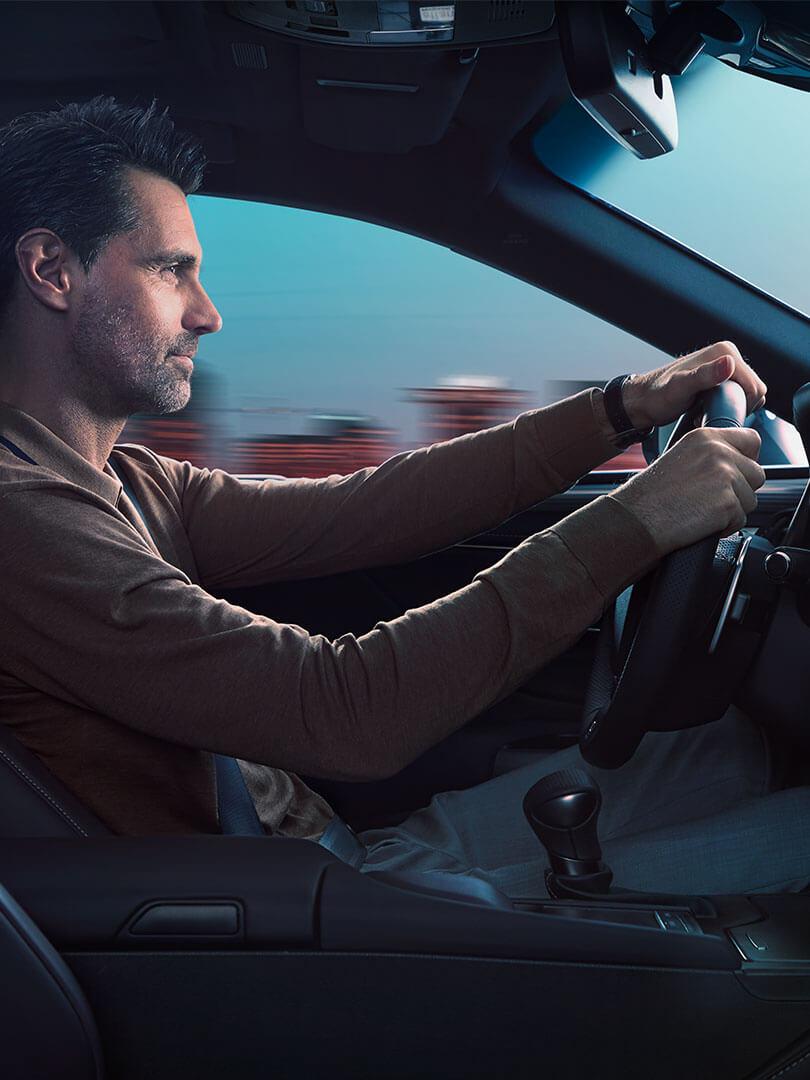 how many gears Lexus self charging hybrid car