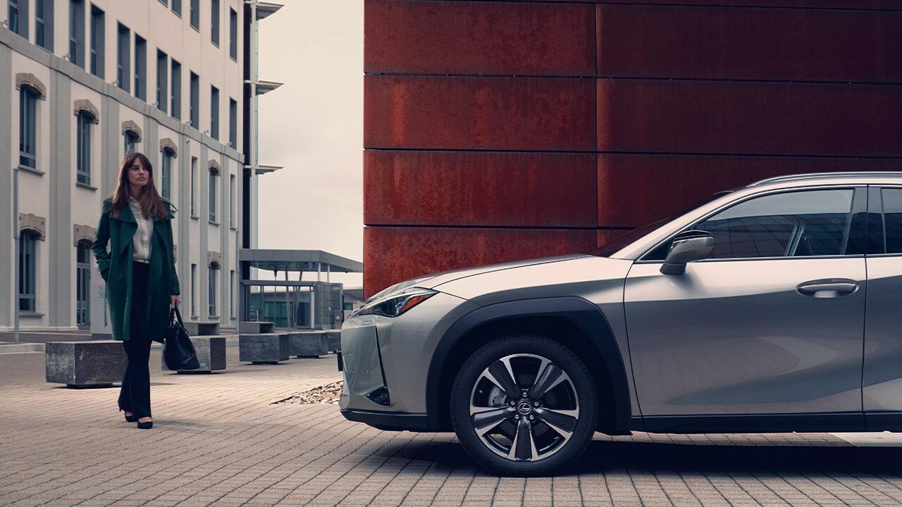 Lexus business company car next steps