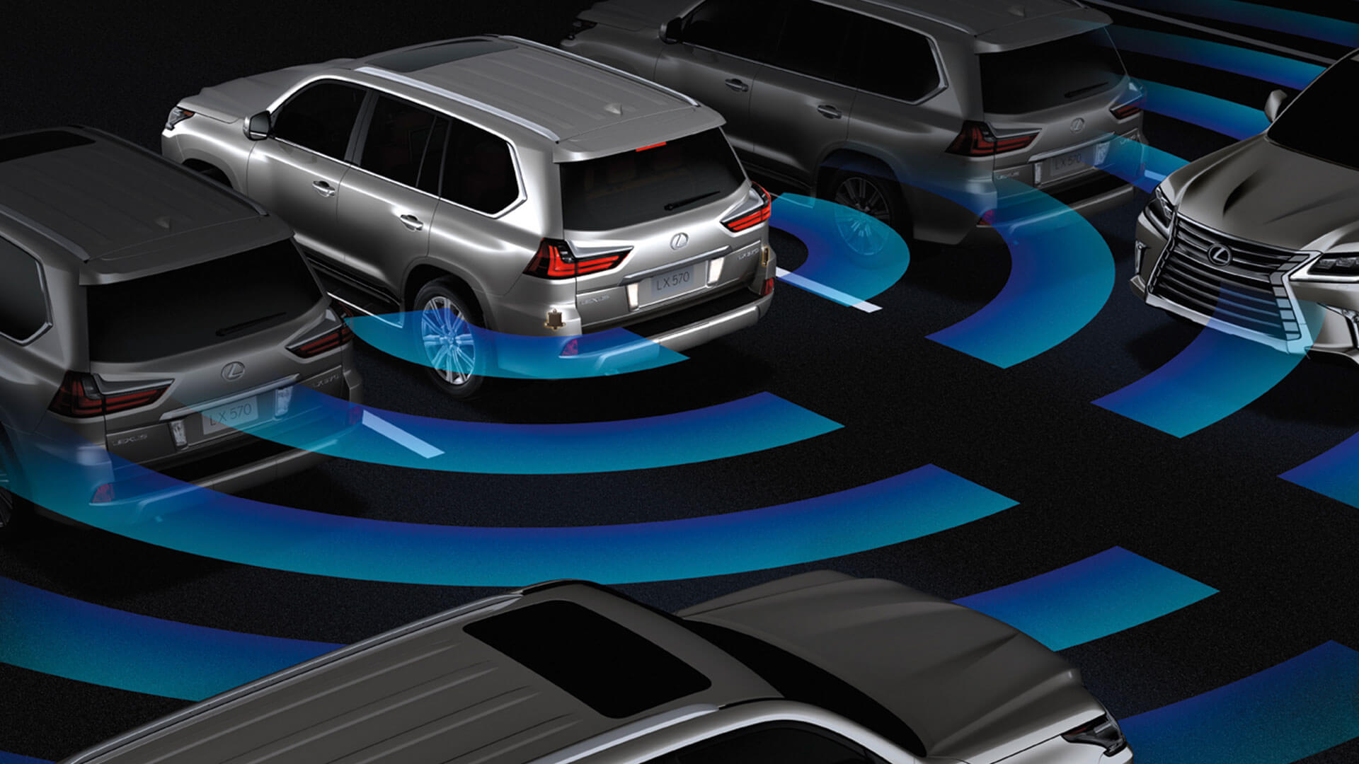 2017 lexus lx features parking assist monitor