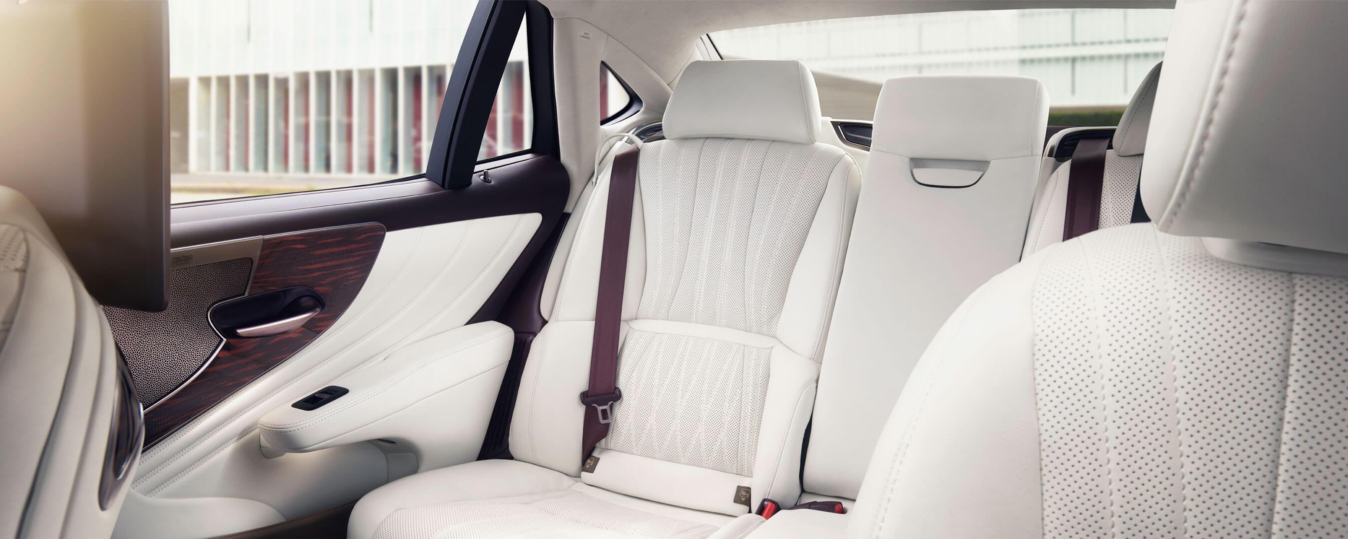 2021 lexus ls experience interior rear