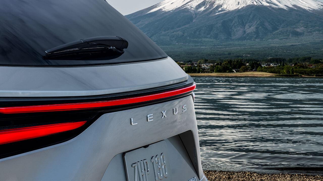 2022 lexus all new nx badge reveal