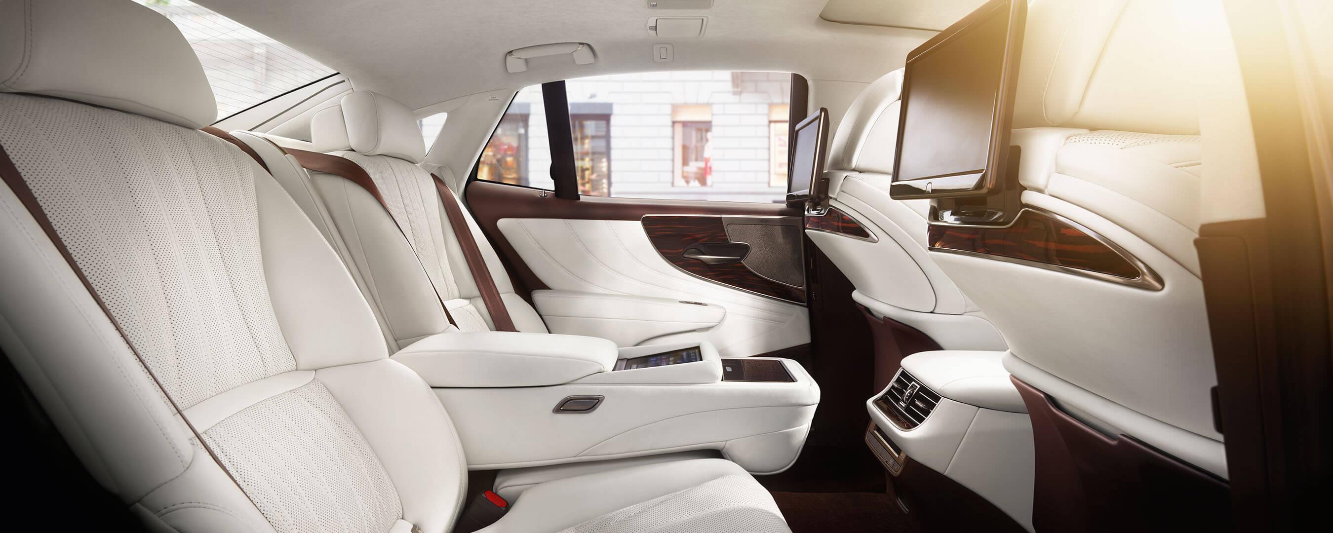 2018 lexus ls interior back