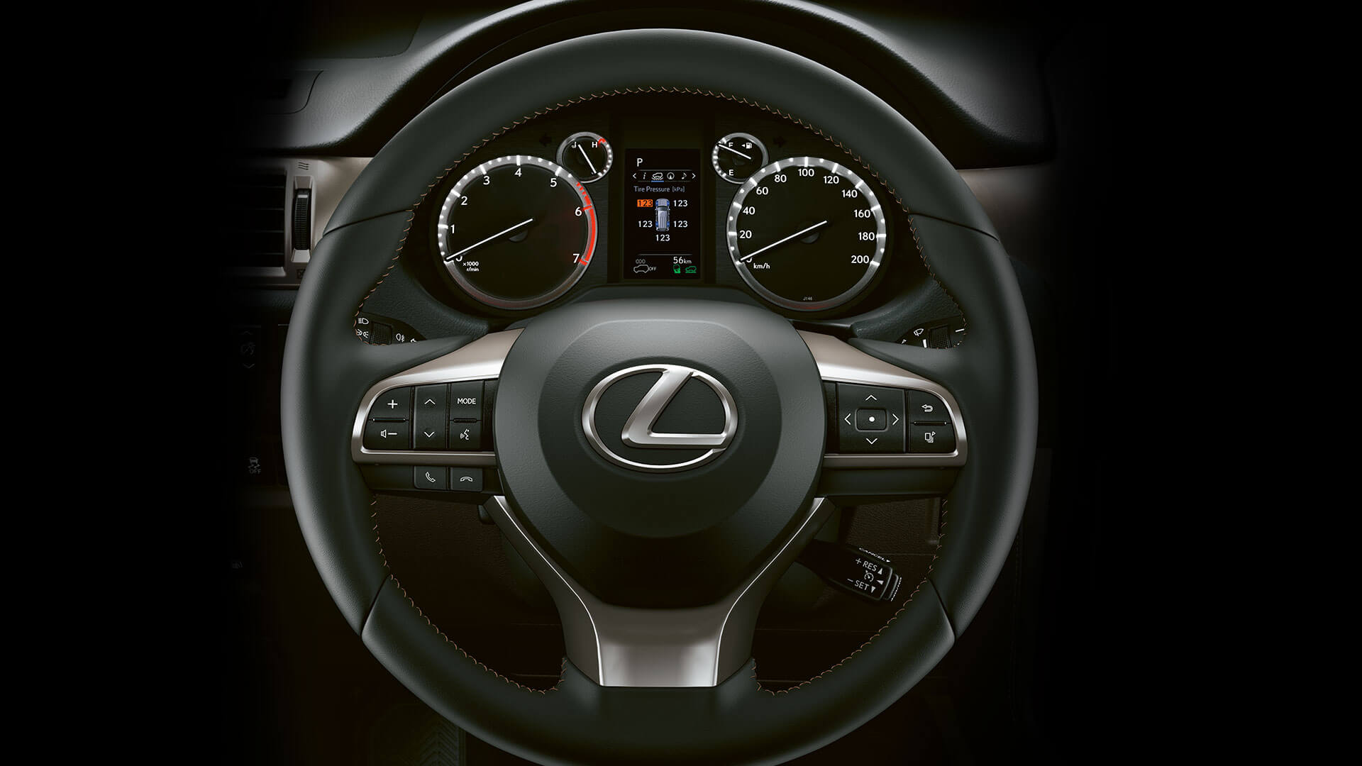 2019 lexus gx hotspot leather steering wheel