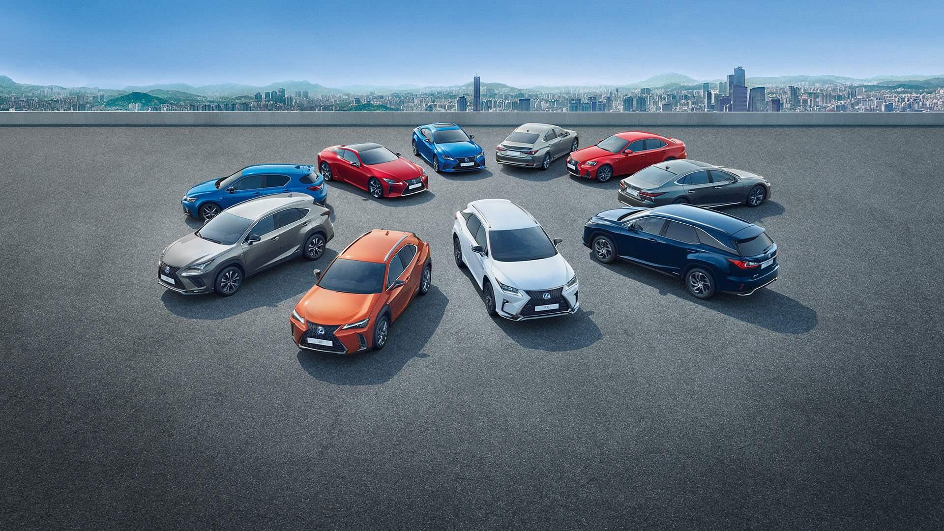 Range Lexus