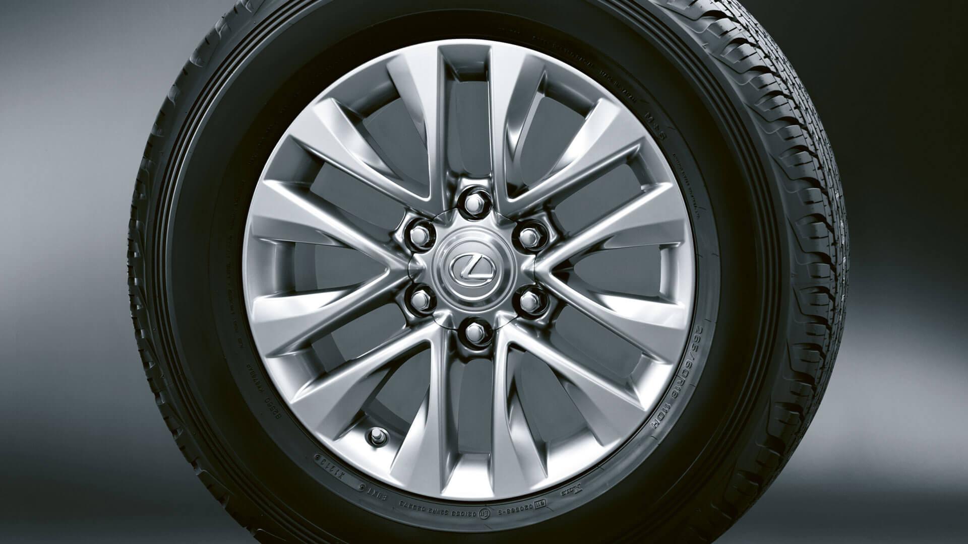 2019 lexus gx hotspot 18 inch alloy wheels