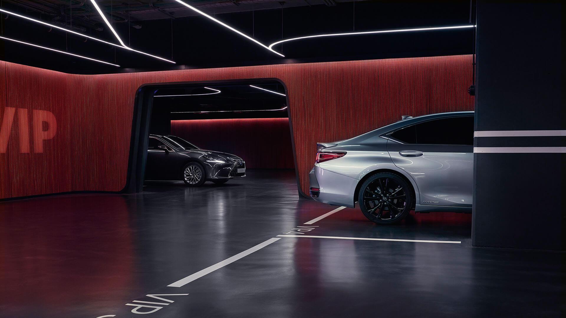 2022 lexus es experience interior back omotenashi welcome