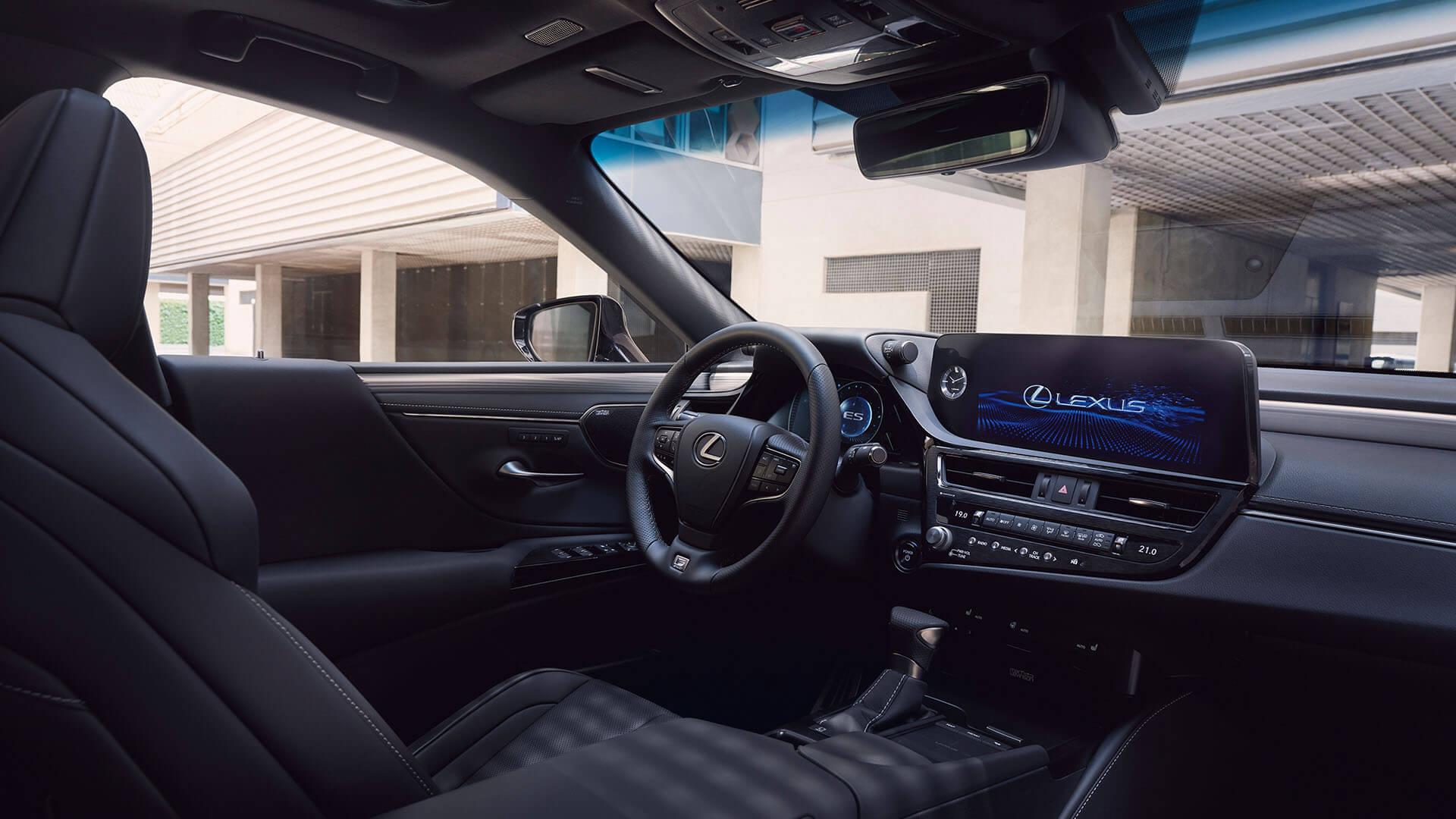 2022 lexus es experience interior back sounds insulation