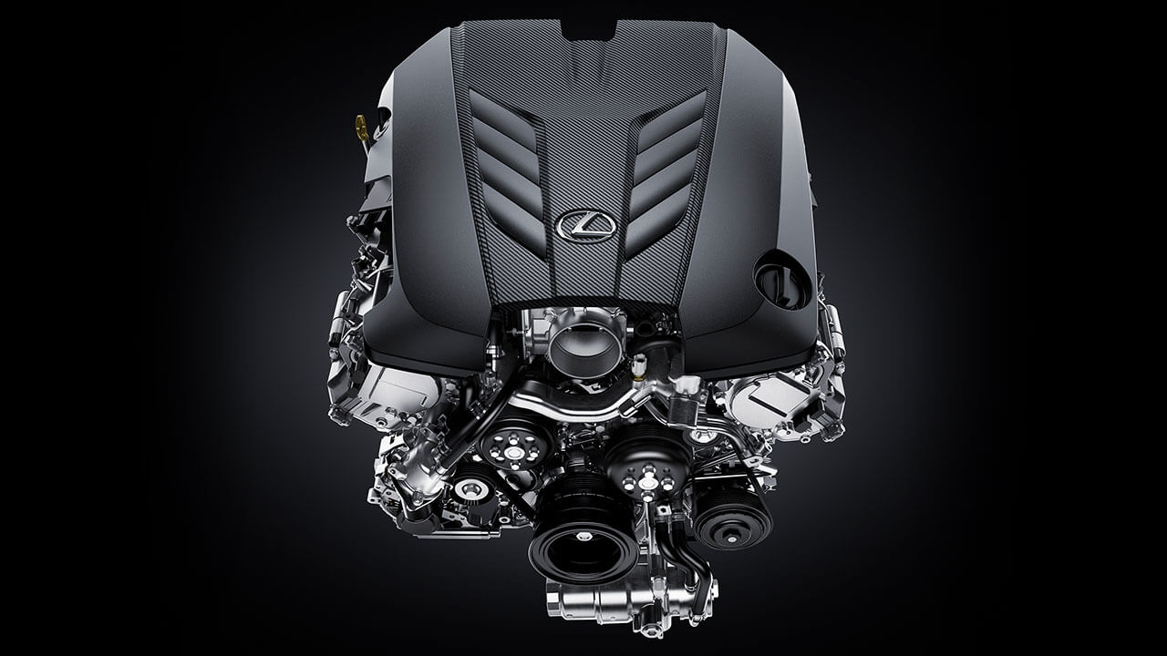 2020 hand built v8 engine