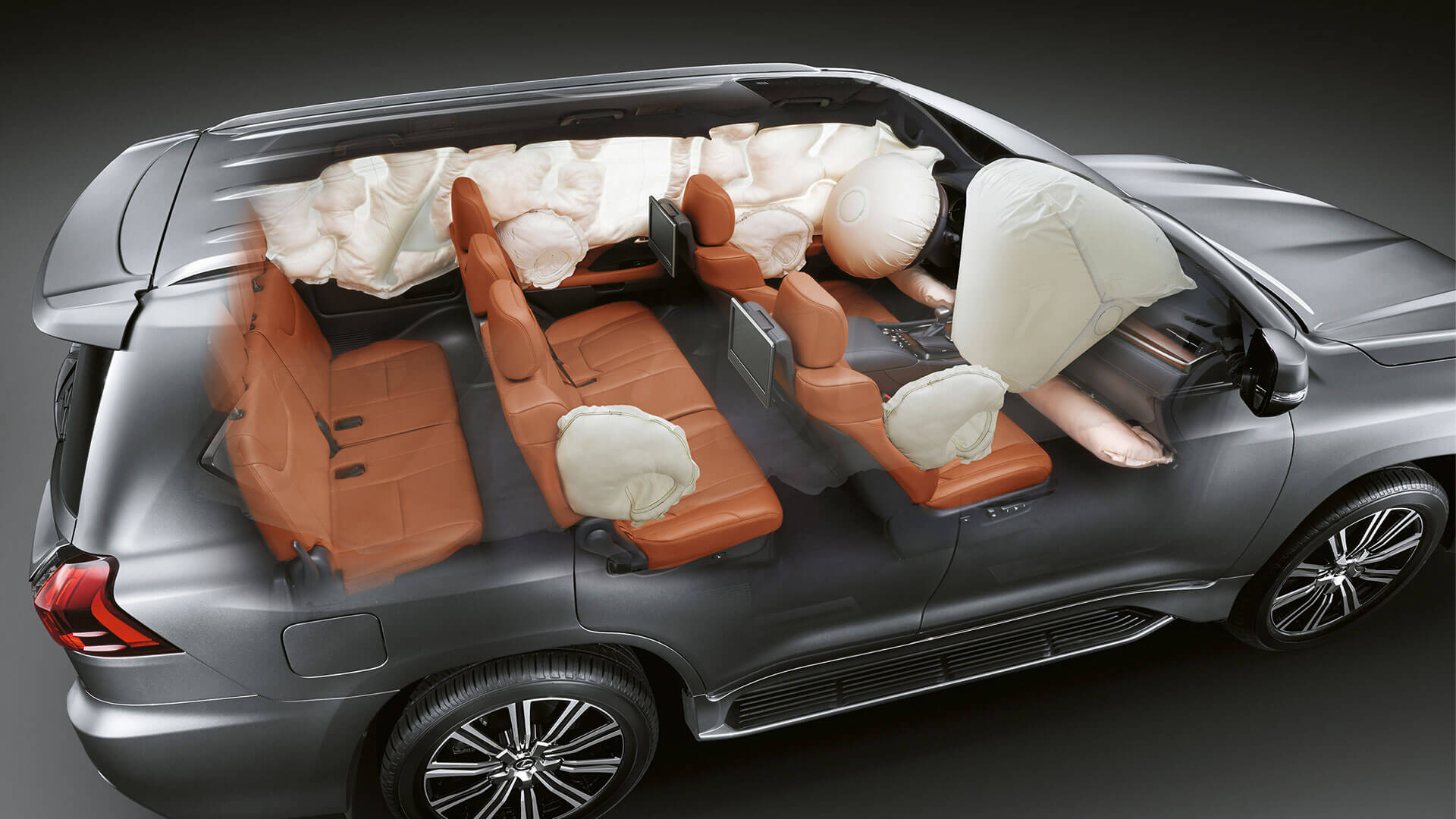 2018 lexus lx 450d features airbags