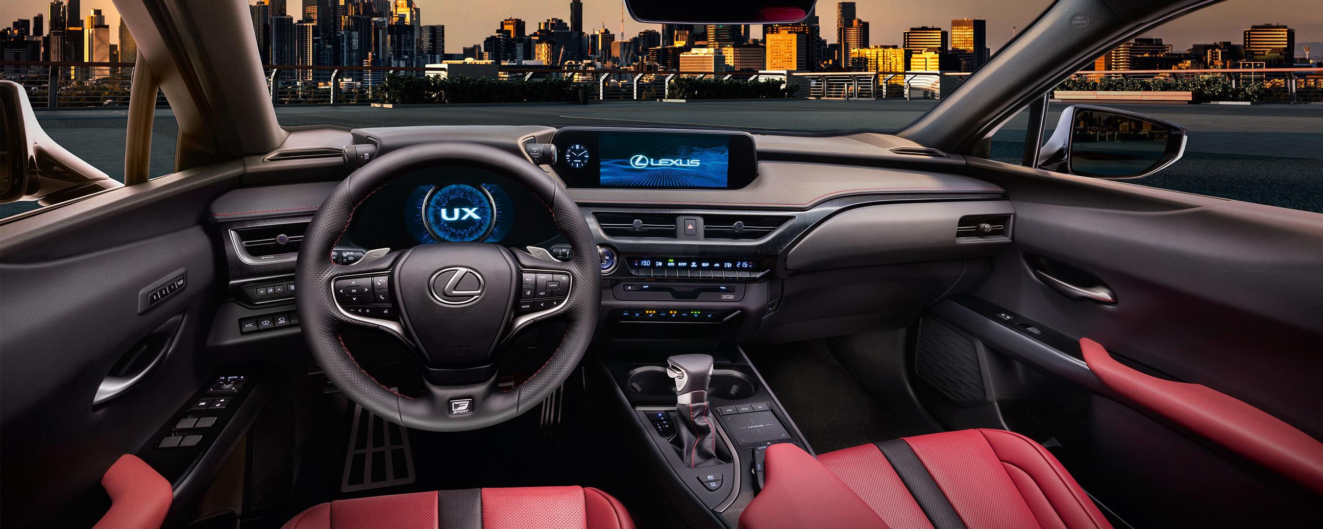 2018 lexus ux experience interior front