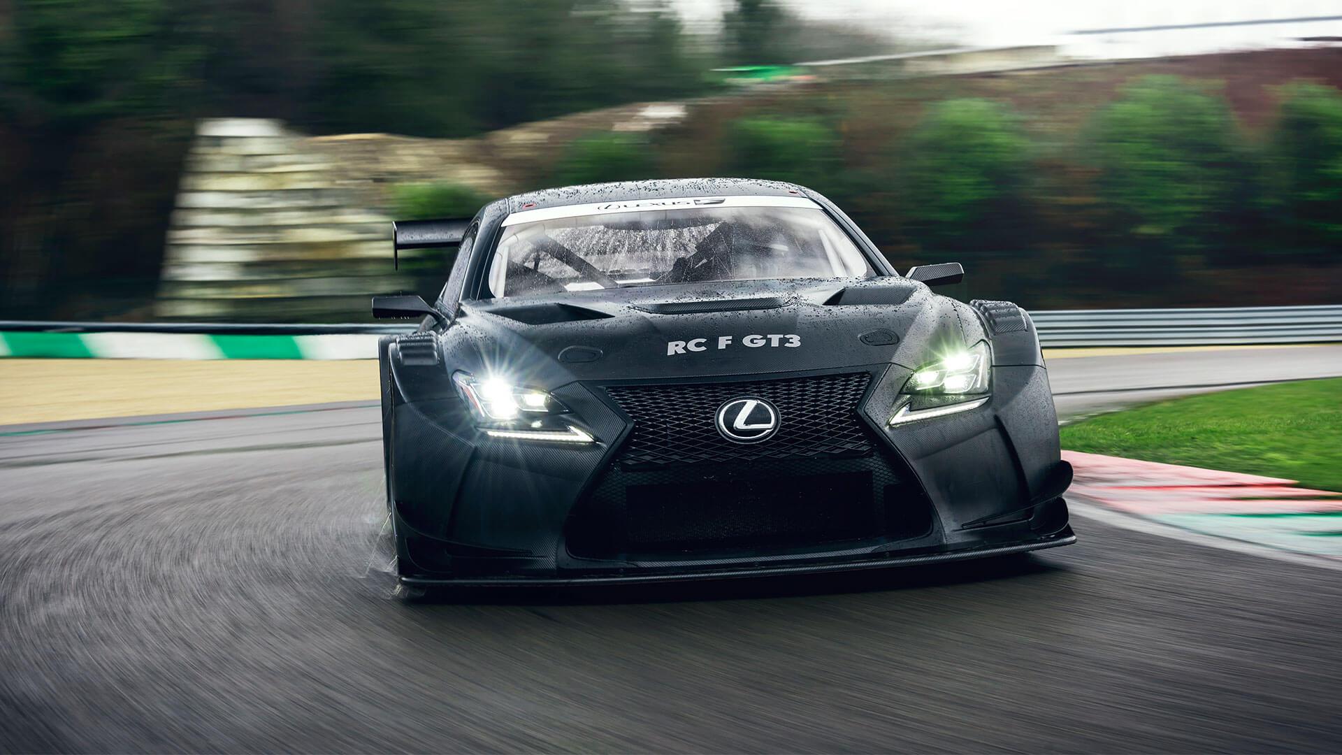 lexus RC F GT3 hero