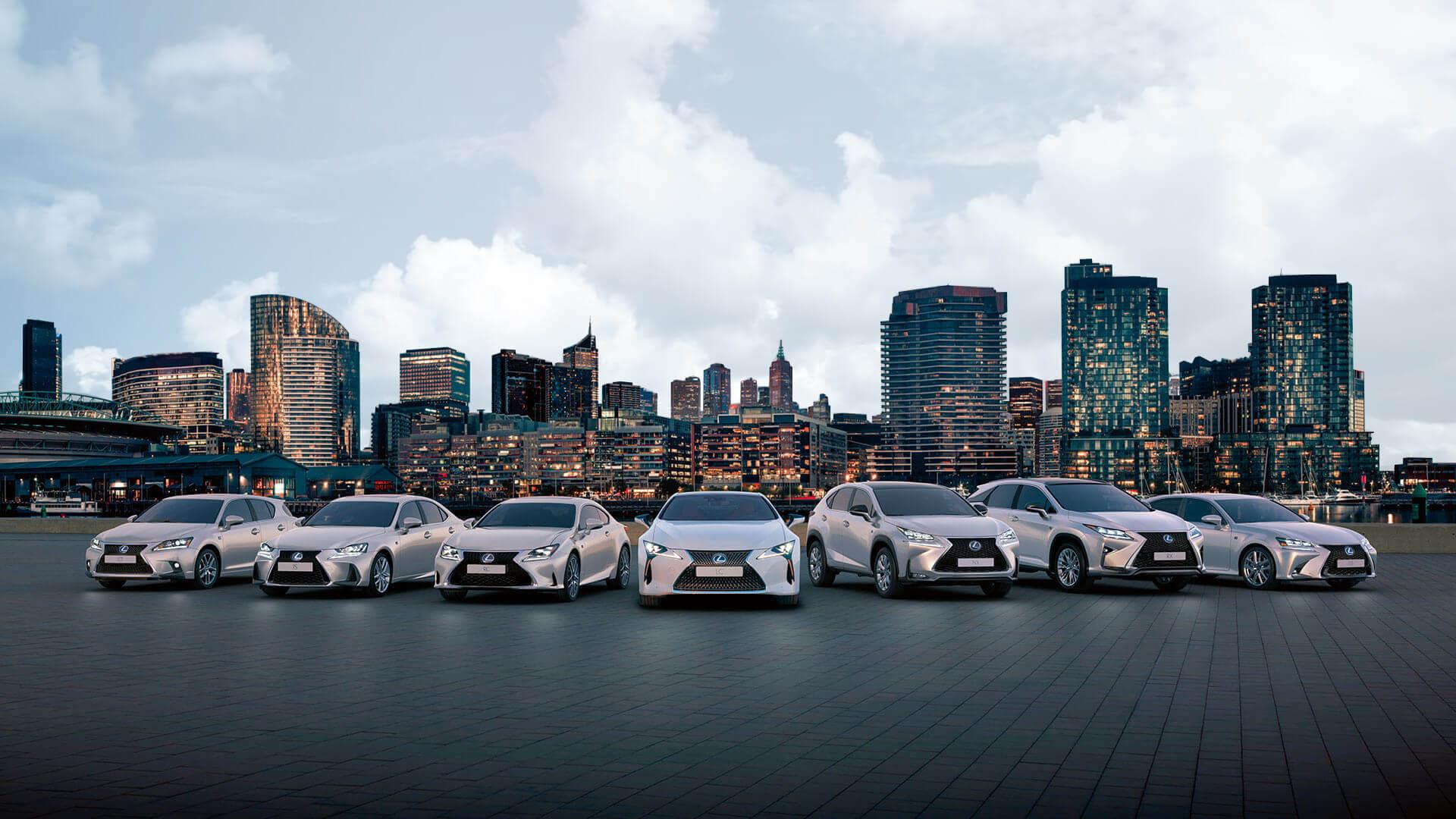 2017 lexus hybrid range