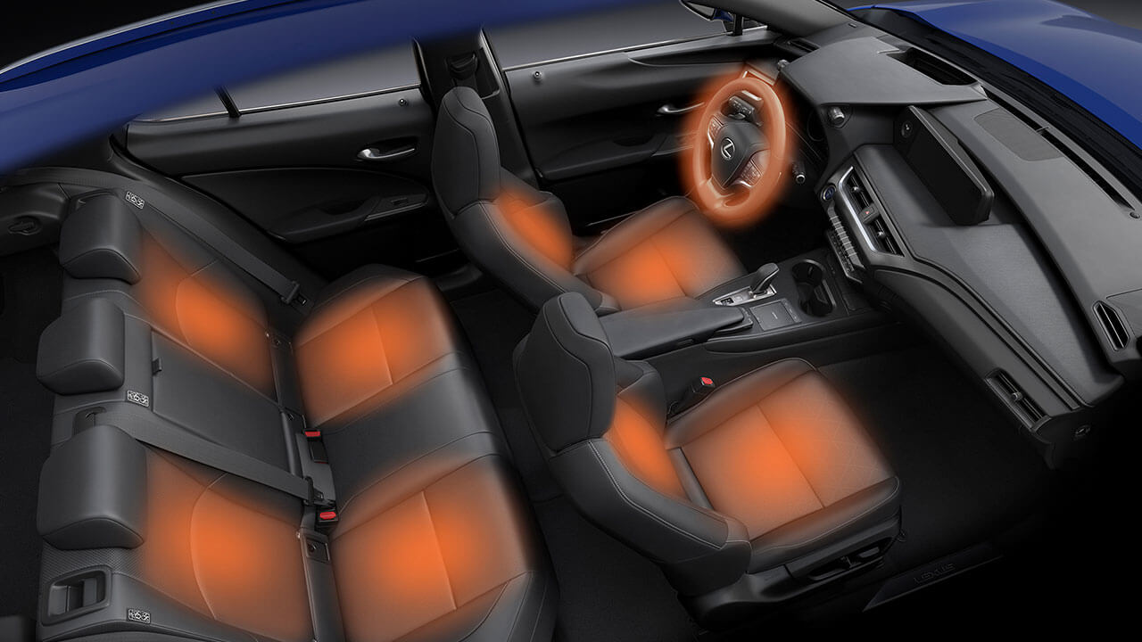 2020 heated seats