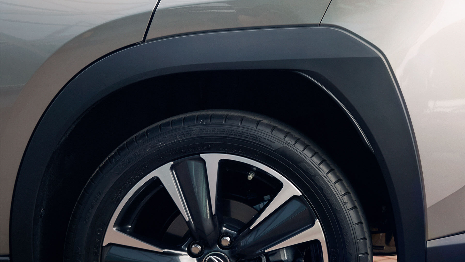 2019 lexus ux 250h experience hotspot stabilising wheels arch
