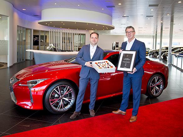 Lexus Amsterdam top tien beste dealers