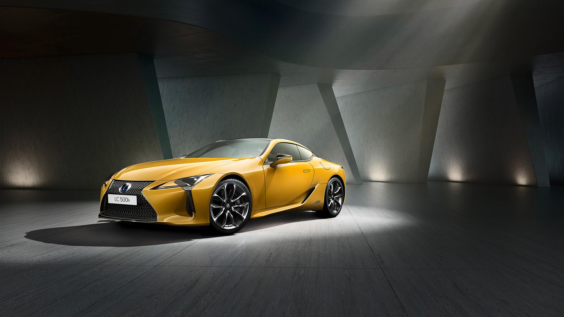 Lexus LC Flare Yellow Edition