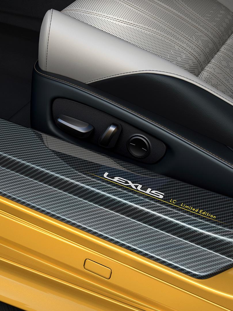 Lexus LC Flare Yellow Edition gelimiteerde uitvoering