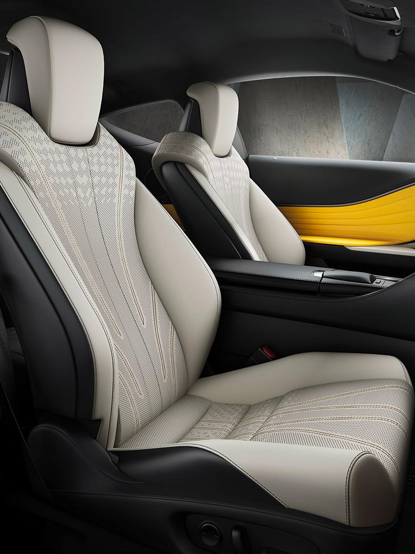 Lexus LC Flare Yellow Edition geeft wow gevoel eigenschappen