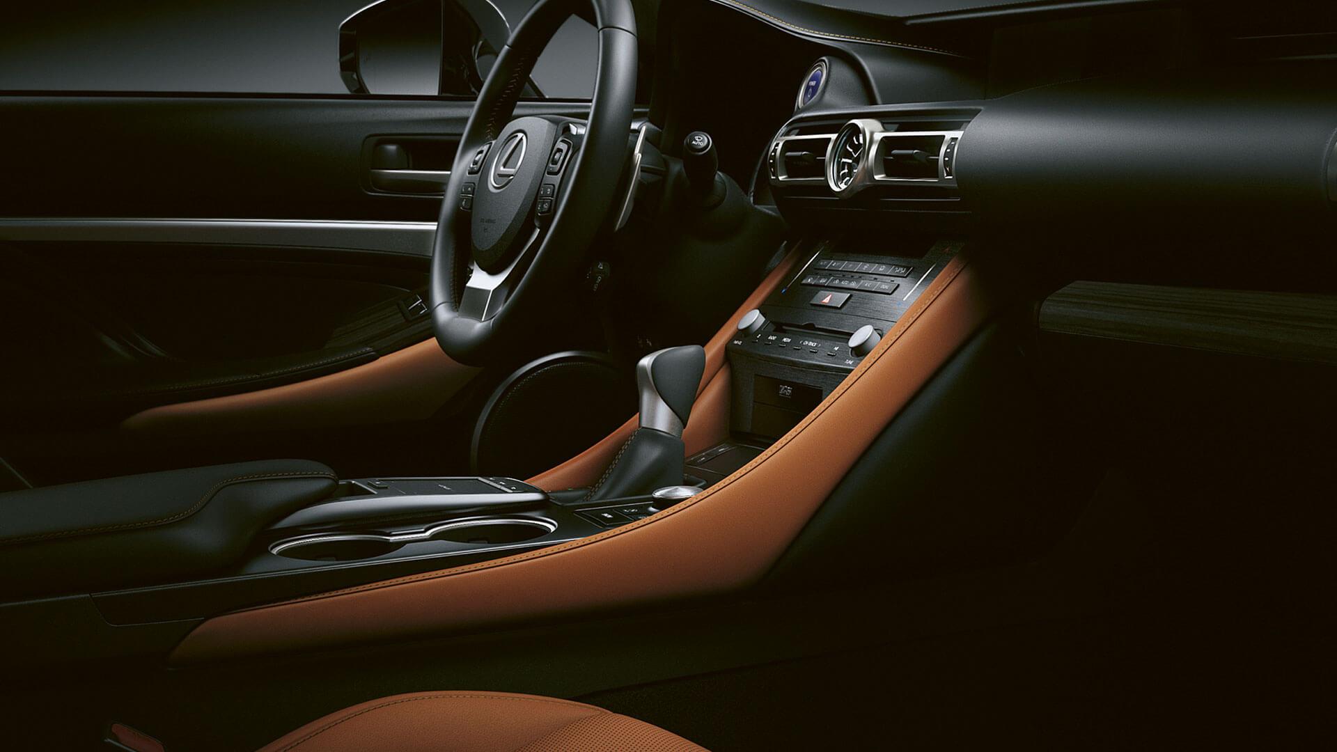 2018 lexus rc hotspot sports driving position