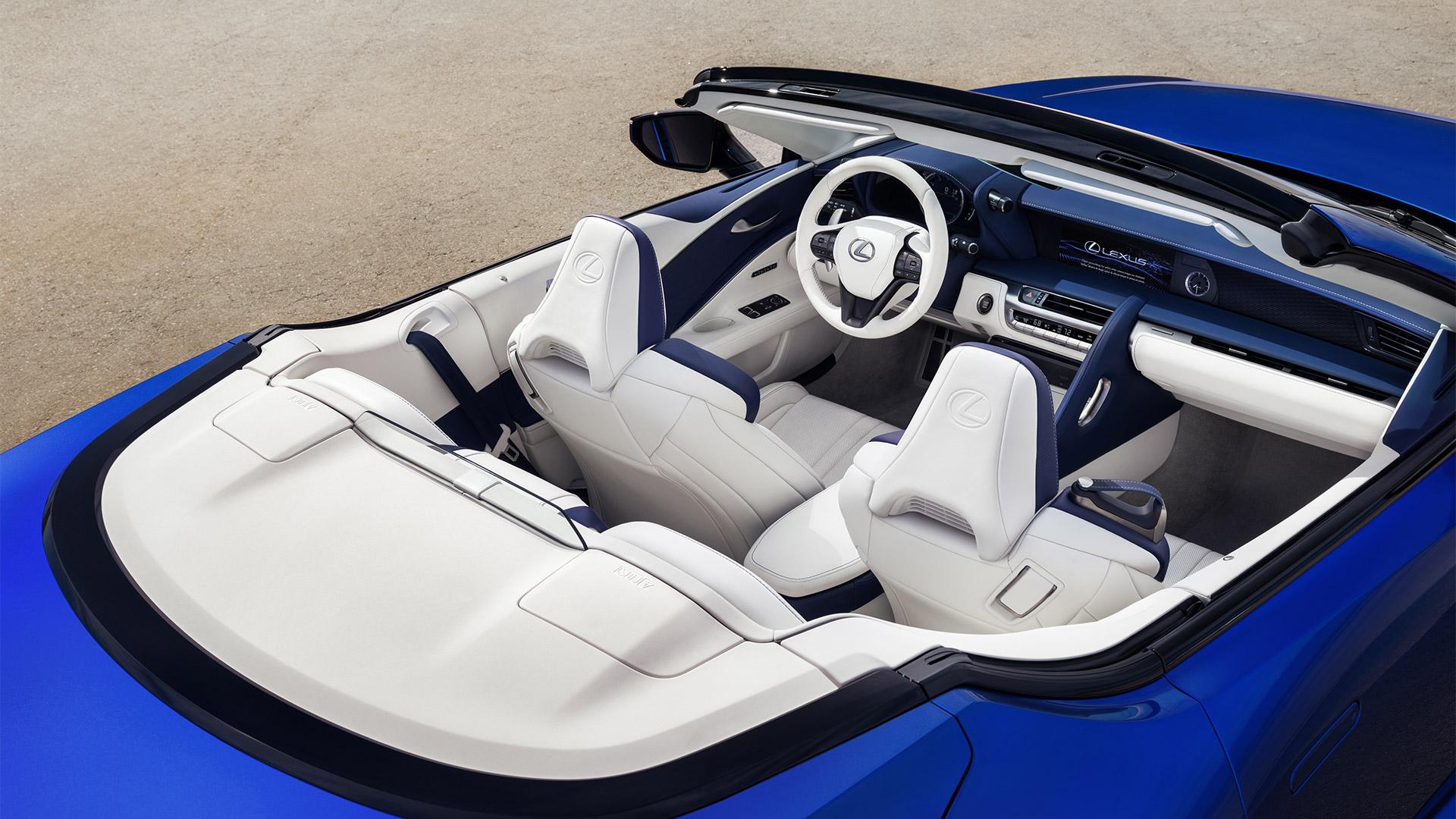 09 2019 027 nieuwe Lexus LC 500 Convertible 1920x1080 galerij