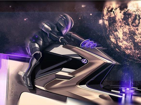 2020 004 Lexus Zero Gravity Concept landscape